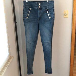 Express Stretchy Skinny Jeans